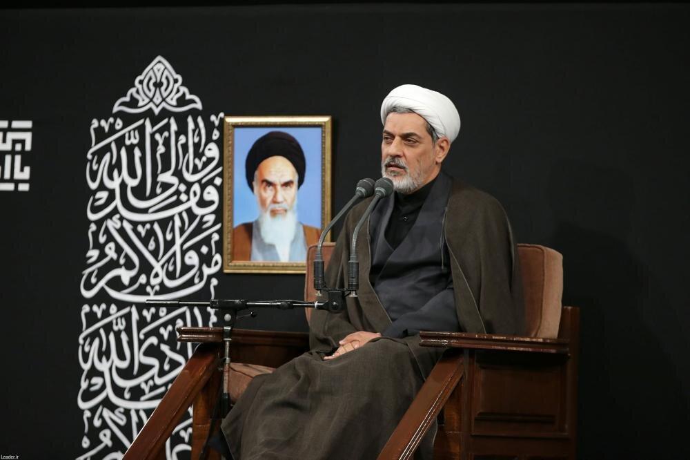 صوت| سخنرانی حجتالاسلام والمسلمین رفیعی در حضور رهبر انقلاب