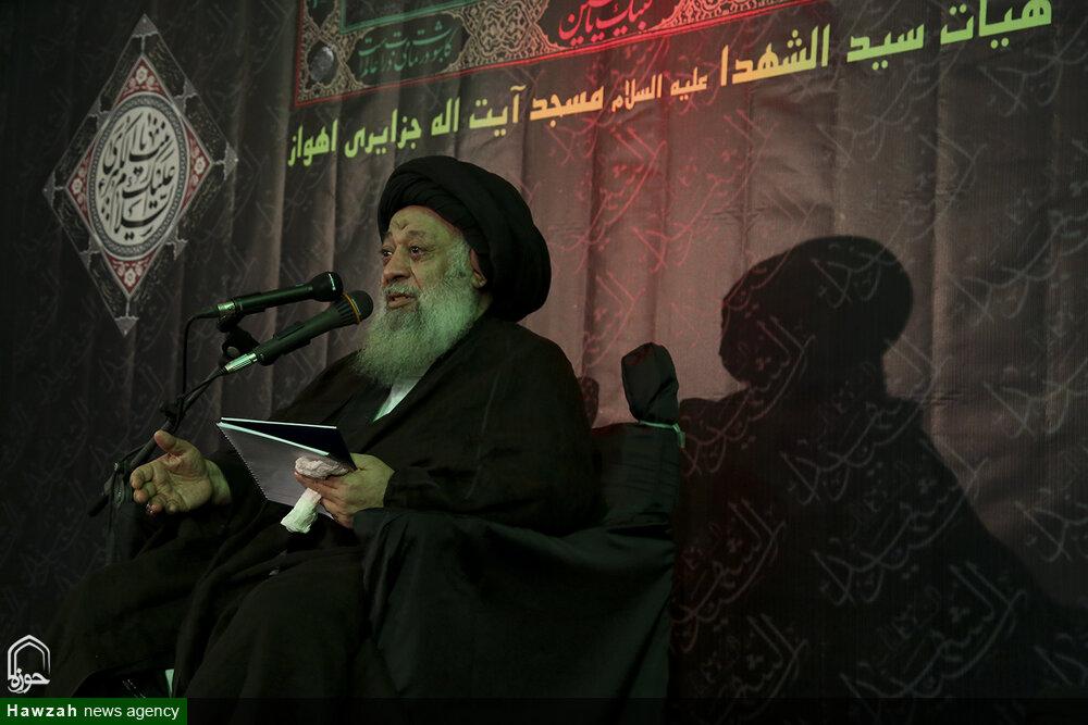 تصاویر/ مقتل خوانی آیتالله موسوی جزایری