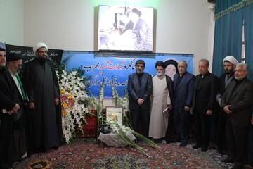 ادای احترام به مقام شامخ دومین شهید محراب