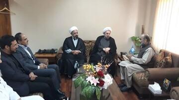رئیس دانشگاه مذاهب اسلامیبا رئیس شورای ایدئولوژی اسلامی پاکستان  دیدار کرد