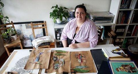 Canadian artist commemorates Muslim female travelers