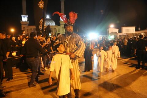 تصاویر/ کاروان نمادین اهل بیت (ع) از کربلا به کوفه