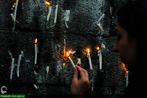 مراسم سنتی چهل منبر همزمان با شام غریبان امام حسین در اصفهان