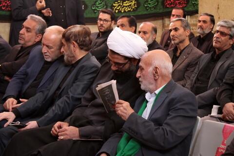 تصاویر/ مراسم بزرگداشت دومین شهید محراب در همدان