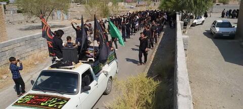 تصاویر/ حال و هوای مناطق محروم استان کرمان در ایام محرم