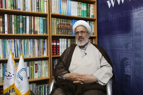 حجت الاسلام والمسلمین مهدوی راد استاد دانشگاه تهران