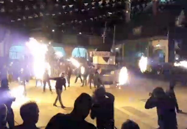 فیلم| مراسم زنجیر آتشین روستای باستانی بیاضه