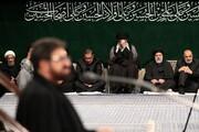 فیلم  مداحی حاج مرتضی طاهری در حضور رهبر انقلاب