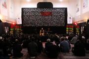 اولین شب مراسم عزاداری هیئت هنر و رسانه در قم برگزار شد