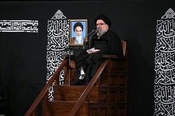 صوت| سخنرانی آیت الله سید احمد خاتمی در حضور رهبر انقلاب