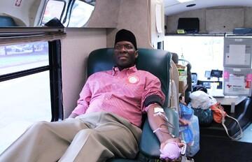کمپین «اهدای خون» توسط جامعه اسلامی مینه سوتای آمریکا برگزار گردید