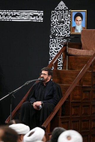 تصاویر/ آخرین شب مراسم عزاداری حضرت اباعبدالله الحسین (علیهالسلام) در حسینیه امام خمینی