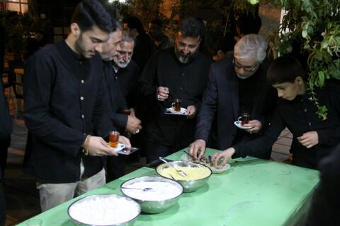 تصاویر/ مراسم عزاداری هیئت هنر و رسانه استان قم