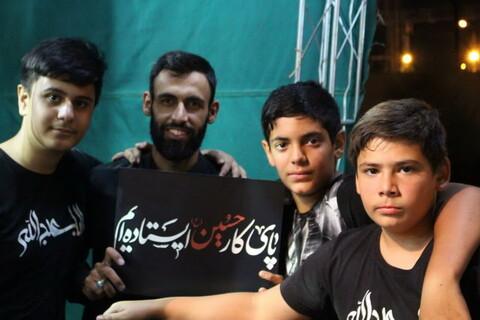 تصاویر/ ایستگاه صلواتی دانش آموزان دبیرستان شهید عسگریان منطقه یک تهران به همت مبلغان طرح امین