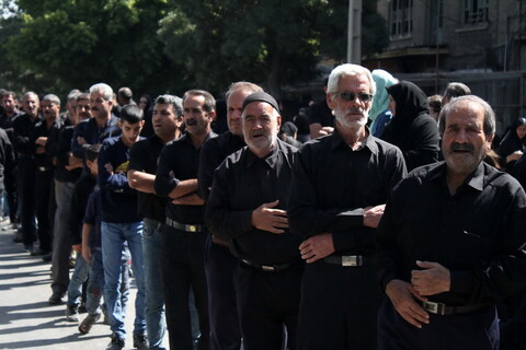 تصاویر/ دسته جات عزاداری همدان در روز شهادت امام سجاد(ع)