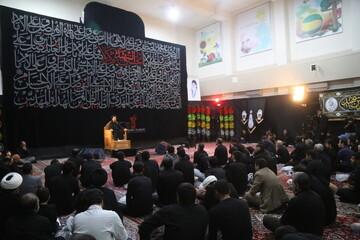 فیلم| مراسم عزاداری هیئت هنر و رسانه استان قم