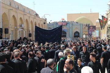 آیین 100 ساله 13محرم در یزد به میزبانی روحانیون برگزار شد