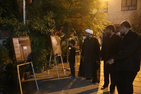 تصاویر/ مراسم دومین شب عزاداری هیئت هنر و رسانه استان قم