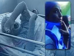 دختر آبی