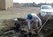 با یک حرکت جهادی، خانه عالم روستای محروم تکمیل شد