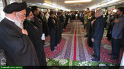 تصاویر/ مراسم عزاداری اباعبدالله الحسین(ع) در دفتر امام جمعه اصفهان