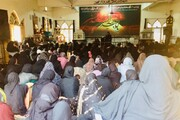 مدافعان حرم جناب زینب ع نے ولایت علی ع کے پرچم تلے حق کا بول بالا کیا،سیکرٹری تنظم سازی ایم  ڈبیلو ایم لاہور