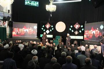 اجرای برنامه پرده خوانی توسط طلاب همدانی
