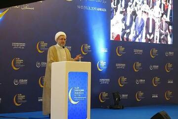 مسلمانان میتوانند با وحدت نظامی سیاسی و اقتصادی بزرگ ترین قدرت جهان شوند