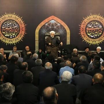 مراسم عزاداری دهه آخر صفر در حسینیه هدایت برگزار میشود