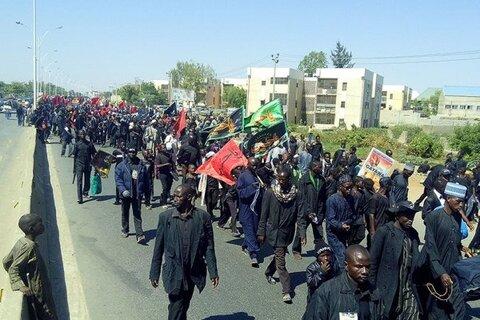 عزاداری شیعیان نیجریه در عاشورا