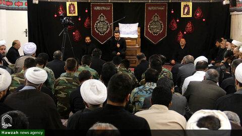 مراسم عزاداری اباعبدالله الحسین(ع) در دفتر امام جمعه اصفهان