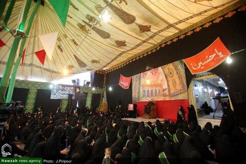 بالصور/ اجتماع الزينبيات في مزار السيد موسى المبرقع بن الإمام الجواد (ع) بقم المقدسة