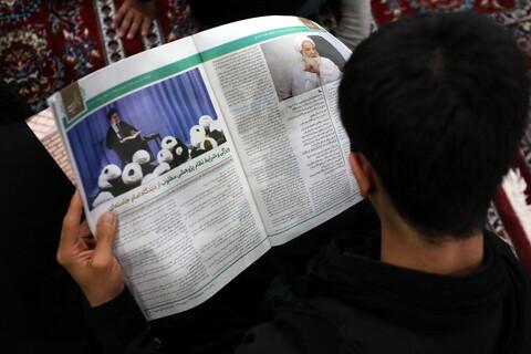 تصاویر/ حاشیههایی از مراسم آغاز سال تحصیلی جدید حوزههای علمیه