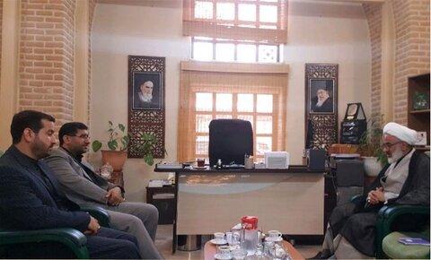 دیدار نماینده ولی فقیه در سپاه با مدیران شبکه رادیویی معارف