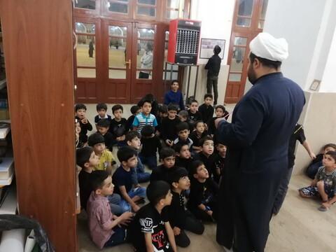 تصاویر/ مساجد شهر کرمان میزبان کودکان و نوجوانان در ایام محرم