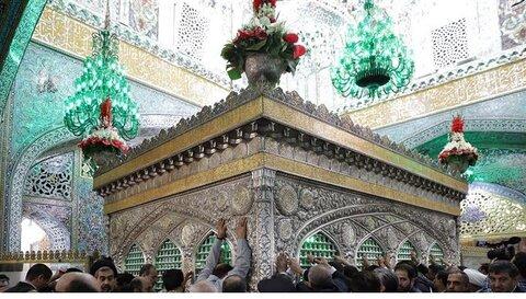 Turkish students visit Imam Reza (AS) holy shrine