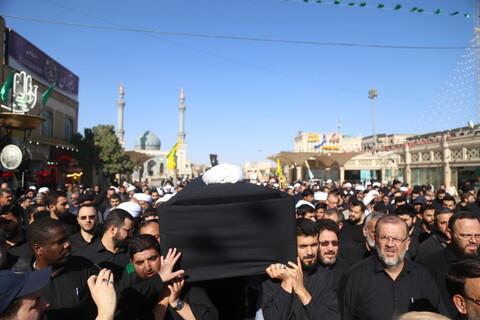 تشییع پیکر مرحوم حجت الاسلام والمسلمین حسین کورانی در قم