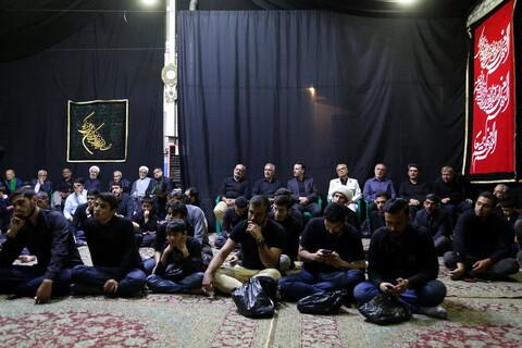 تصاویر/ مراسم عزاداری امام حسین(ع) در موسسه بوی سیب