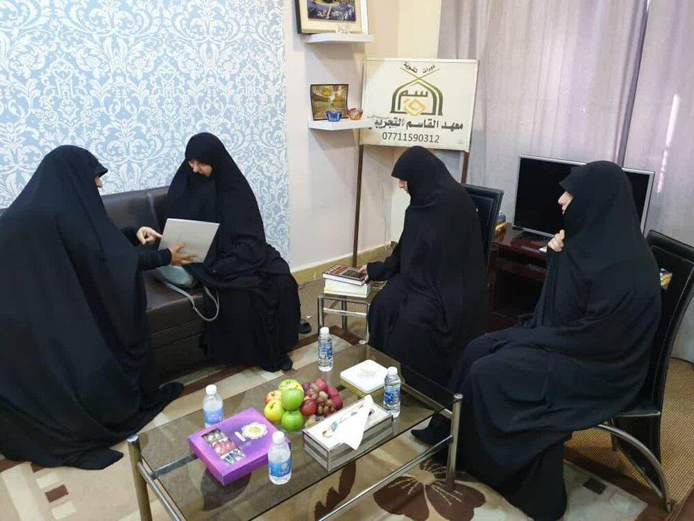 سفر علمی اساتید مجتمع آموزش علوم اسلامی کوثر به عراق+ عکس