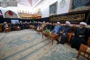 زيارة مرقد الإمام علي (ع) عبادة نتقرب بها الى الله + صور