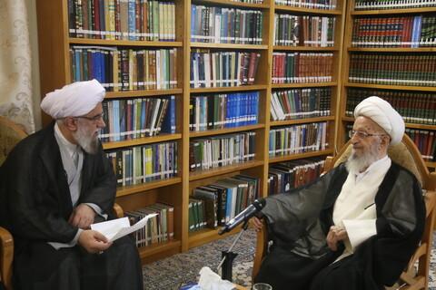 دیدار دبیرکل مجمع جهانی اهل بیت(ع) با آیت الله العظمی مکارم شیرازی