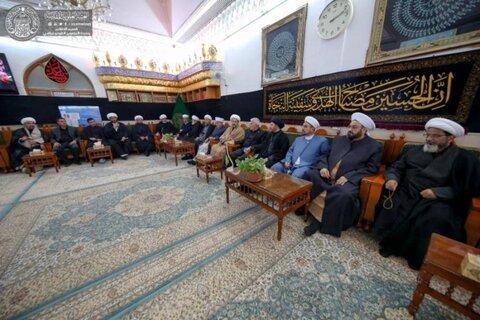 وفد من مختلف الطوائف والديانات يتشرف بزيارة الامام علي (ع)