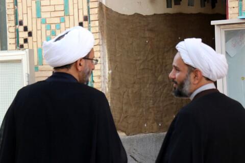 مراسم تودیع و معارفه مدیر مدرسه علمیه محمودیه کرمان با