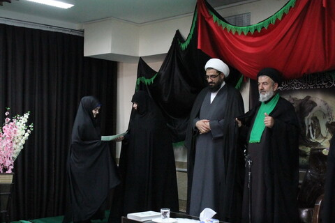 مراسم آغاز سال تحصیلی جدید حوزه علمیه خواهران همدان