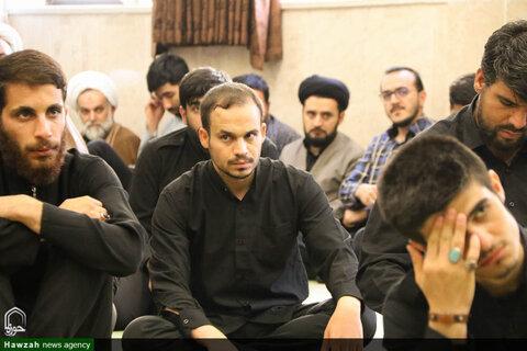 مراسم عزاداری ابا عبد الله الحسین درمرکز مدیریت حوزه علمیه اصفهان