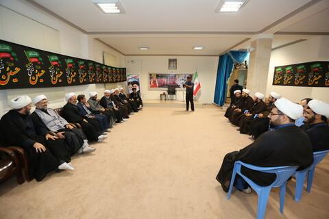 تصاویر/ سفر آیت الله اعرافی به آذربایجان غربی