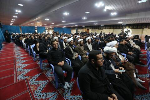 مراسم آغاز سال تحصیلی جدید حوزه علمیه آذربایجان غربی با حضور آیت الله اعرافی