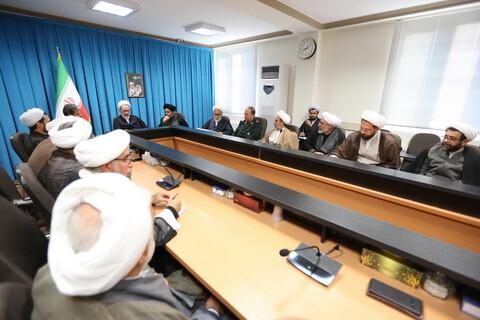 تصاویر/ نشست شورای هماهنگی مراکز حوزوی آذربایجان غربی با حضور آیت الله اعرافی