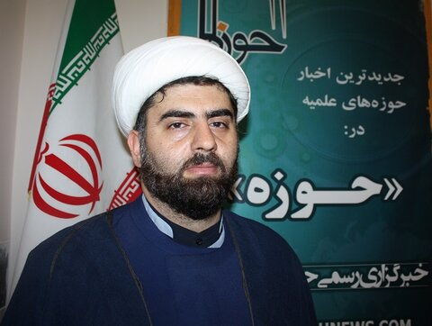 حجت الاسلام ابوالفضل نجادی مدیر مدرسه علمیه مشکات کرمانشاه