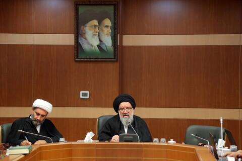 تصاویر/ نشست سخنگوی هیئت رئیسه مجلس خبرگان رهبری با اصحاب رسانه